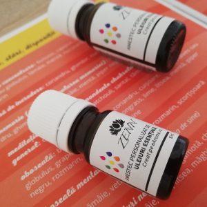 blend personalizat de uleiuri esentiale