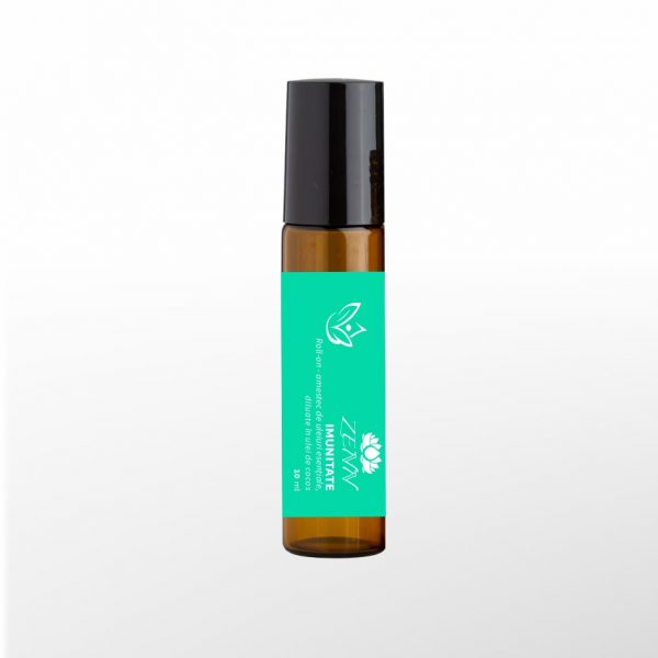 roll-on cu uleiuri esentiale pentru imunitate earome zenn