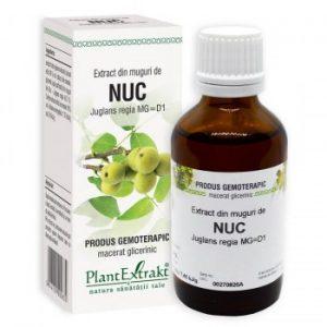 extract gemoterapic din muguri de nuc plantextrakt earome