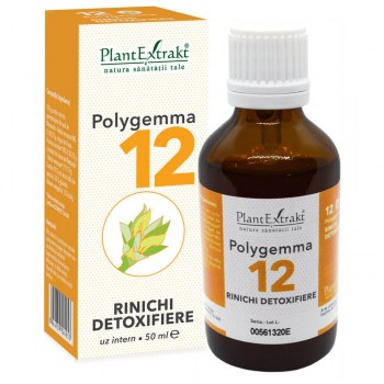 polygemma 12 rinichi detoxifierea plantextrakt earome