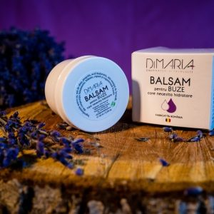 balsam de buze natural 100% cu ulei esential de lavanda bio