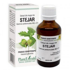 extract gemoterapic din muguri de stejar plantextrakt earome