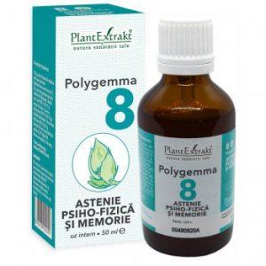 polygemma 8 - memorie, concentrare, stres - plantextrakt earome